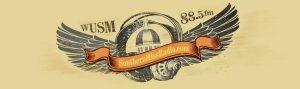 WUSM Radio logo, Photo from AnnaKaylin Barnes